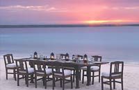 Honeymoon at Mnemba Island, Africa